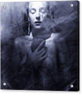 Ghost Woman Acrylic Print by Scott Sawyer