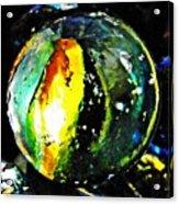 Glass Abstract 83 Acrylic Print by Sarah Loft