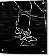 Gliding Acrylic Print by Karol Livote