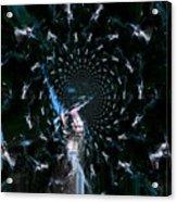 Glory Acrylic Print by Fania Simon