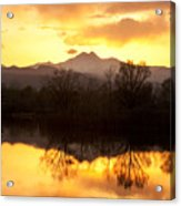 Golden Ponds Longmont Colorado Acrylic Print by James BO  Insogna