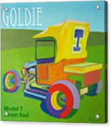 Goldie Model T Acrylic Print by Evie Cook
