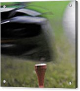 Golf Sport Or Game Acrylic Print by Christine Till