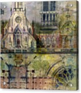 Gothic Acrylic Print by Andrew King