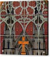 Gothic Church 2 Acrylic Print by Scott Hovind
