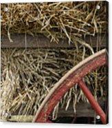 Grain Wagon Acrylic Print by Robert Ponzoni