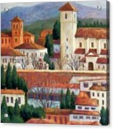 Granada View Acrylic Print by Candy Mayer