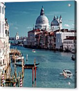 Grand Canal Of Venice Acrylic Print by Michelle O'Kane