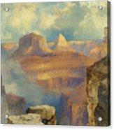 Grand Canyon Acrylic Print by Thomas Moran
