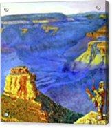 Grand Canyon V Acrylic Print by Stan Hamilton