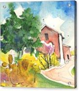 Greve In Chianti In Italy 01 Acrylic Print by Miki De Goodaboom