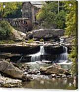Grist Mill No. 1 Acrylic Print by Harry H Hicklin