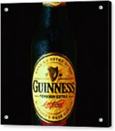 Guinness Acrylic Print by Wingsdomain Art and Photography