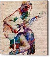 Gypsy Serenade Acrylic Print by Nikki Smith