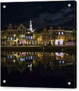 Haarlem Night Acrylic Print by Chad Dutson