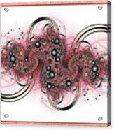 Hadron Collider Acrylic Print by David April