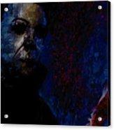Halloween Michael Myers Signed Prints Available At Laartwork.com Coupon Code Kodak Acrylic Print by Leon Jimenez