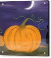 Halloween Night Acrylic Print by Roxy Riou