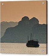 Halong Bay Acrylic Print by Peter Verdnik