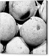 Hard Ball Acrylic Print by Slade Roberts