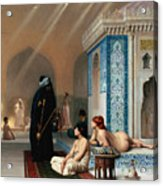 Harem Pool Acrylic Print by Pg Reproductions