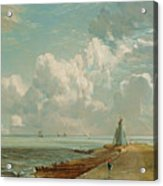 Harwich - The Low Lighthouse And Beacon Hill Acrylic Print by John Constable