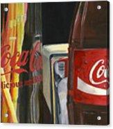 Have A Coke... Acrylic Print by Rob De Vries