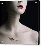 Head Of Dummy Acrylic Print by Bernard Jaubert