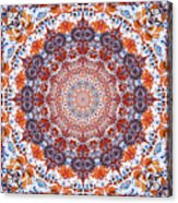 Healing Mandala 2 Acrylic Print by Bell And Todd