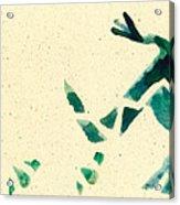Hear The Lizard Acrylic Print by Annie Alexander