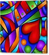 Heart And Soul Acrylic Print by Debi Payne