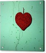 Heart Acrylic Print by Bernard Jaubert