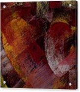 Hearts Acrylic Print by David Patterson