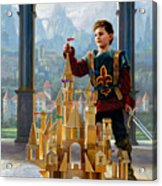 Heir To The Kingdom Acrylic Print by Greg Olsen