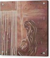 Held Acrylic Print by Patti Spires Hamilton