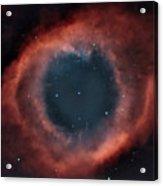 Helix Nebula Acrylic Print by Charles Warren