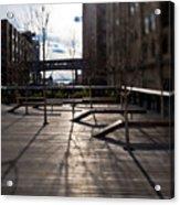 High Line Park Acrylic Print by Eddy Joaquim