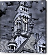 High Noon Black And White Acrylic Print by Tamyra Ayles