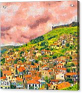 Hios Volissos Acrylic Print by George Rossidis