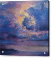 His Glory Acrylic Print by Susan Jenkins