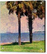 Historic Fort Sumter Charleston Sc Acrylic Print by Susanne Van Hulst