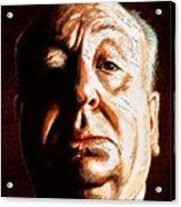 Hitchcock Acrylic Print by Fay Helfer