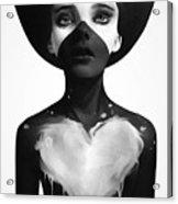 Hold On Acrylic Print by Ruben Ireland