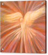 Holy Spirit Appearing As A Dove Acrylic Print by Kip Decker