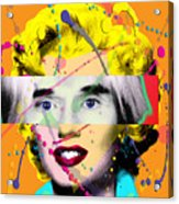 Homage To Warhol Acrylic Print by Gary Grayson