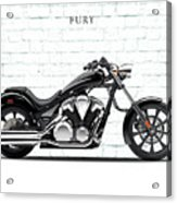 Honda Fury Acrylic Print by Mark Rogan