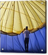 Hot Air Balloon - 11 Acrylic Print by Randy Muir