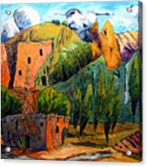 Hovenweep The Penthouse  Acrylic Print by Charlie Spear