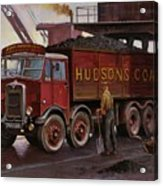 Hudsons Coal. Acrylic Print by Mike  Jeffries