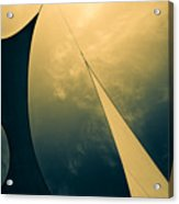 Icarus Journey To The Sun Acrylic Print by Bob Orsillo
